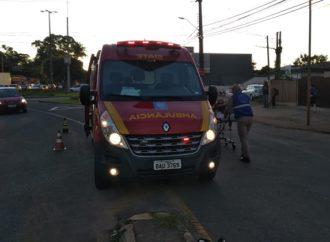 Vídeo: Idosa é atropelada em movimentada Avenida de Ponta Grossa