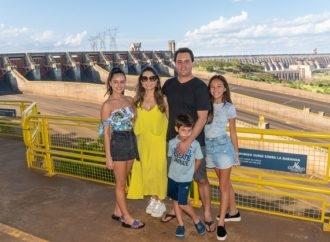"""Ratinho Junior: """"Parceria da Itaipu com os governos estadual e federal é a mais próspera da história da usina"""""""