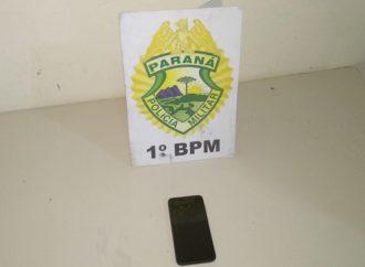 Em ação rápida, PM recupera celular roubado e prende suspeitos do crime