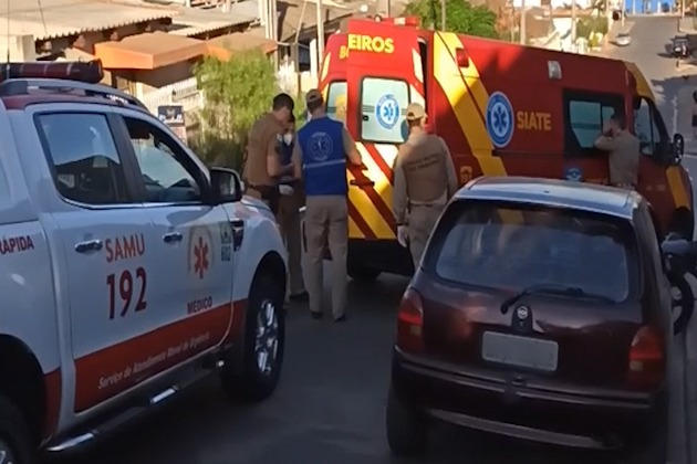 Vídeo   Jovem fica gravemente ferido ao ser baleado no Ouro Verde