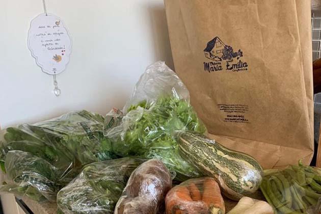 Delivery: Chácara Maria Emília Orgânicos é opção de alimentação saudável durante quarentena