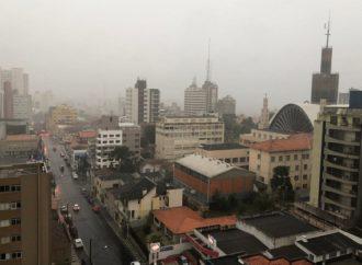 Ponta Grossa Registra primeira temperatura negativa do ano e mais fria do estado
