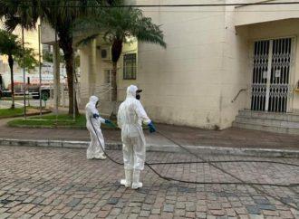 """""""Se for seguro, faremos isso"""", diz Rangel sobre desinfecção de espaços públicos"""