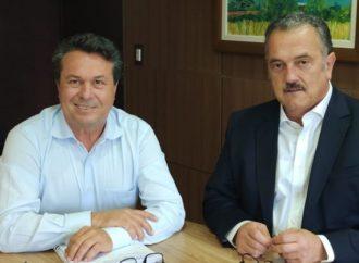 Plauto se reúne com secretário Márcio Nunes para implantação do Programa Estadual Parques Urbanos