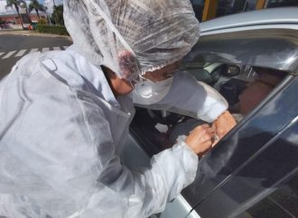 Ao vivo: Veja como está a vacinação contra a gripe na rodoviária de PG