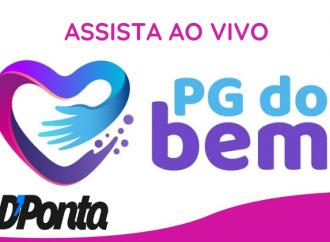 Vídeo: Assista novamente a live 'PG do Bem'!
