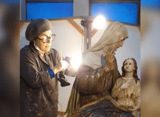 Imagem de Senhora Sant'Ana é restaurada e será entregue na sexta-feira (26)