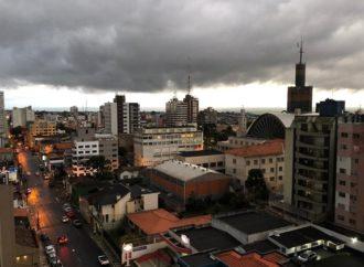 Semana deve ser de tempo instável em Ponta Grossa