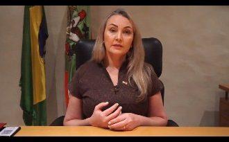 Em vídeo, vice-governadora de SC rompe com Governador e diz que o Estado precisa de comando