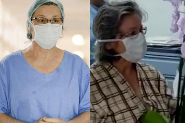 Enfermeira de PG que venceu a COVID-19 volta a ser internada no HU