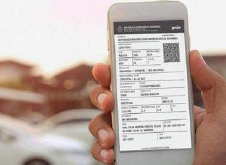 Certificado de Registro e Licenciamento de Veículo estão disponíveis agora em versão digital