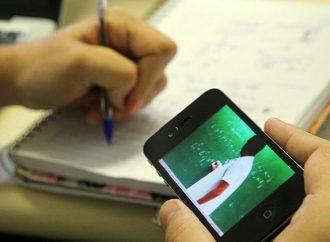 Colégios do Paraná promovem arrecadação de celulares para que alunos acompanhem as aulas