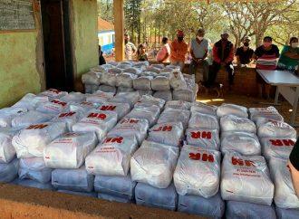 Governo do Paraná distribui cestas básicas para mais de 30 mil famílias de comunidades tradicionais