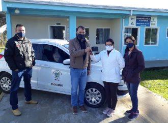 Distritos de Tibagi recebem veículos e ambulância para o programa 'Saúde da Família'