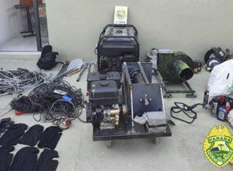 Com o auxílio do Esquadrão Antibombas do Batalhão de Operações Especiais, PM apreende 164 kg de explosivos em PG
