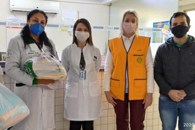 Rotary Alagados entrega doações de materiais para o Hospital Municipal de PG