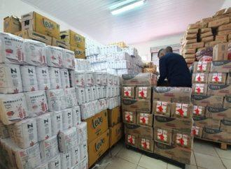 Campanha 'PG sem Fome' arrecada cerca de 120 toneladas de alimentos