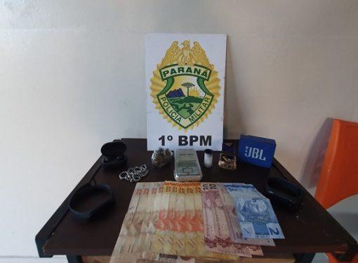 Equipe de hospital encontra drogas em pertences de paciente e PM é acionada em Ponta Grossa