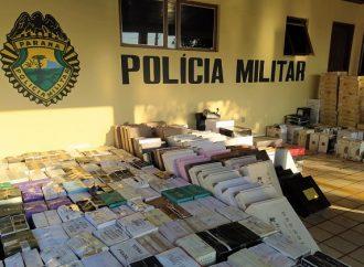 Criminosos são presos contrabandeando vinhos argentinos no Paraná