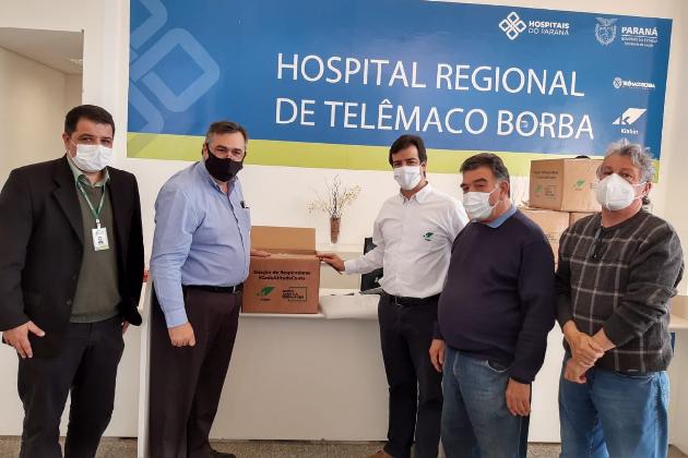 Hospital Regional de Telêmaco Borba recebe novos leitos de UTI exclusivos para Covid-19