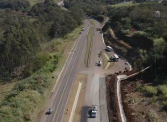 Vídeo mostra avanço de obras da CCR Rodonorte em todo o estado