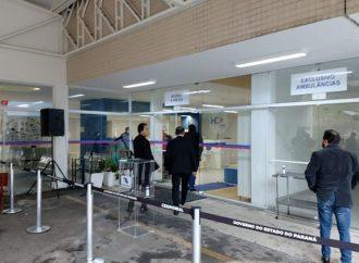 Vídeo: Governador Ratinho Junior visita Hospital da Criança e nova UPA em PG