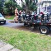 PM realiza operação contra motos com escapamento aberto em PG