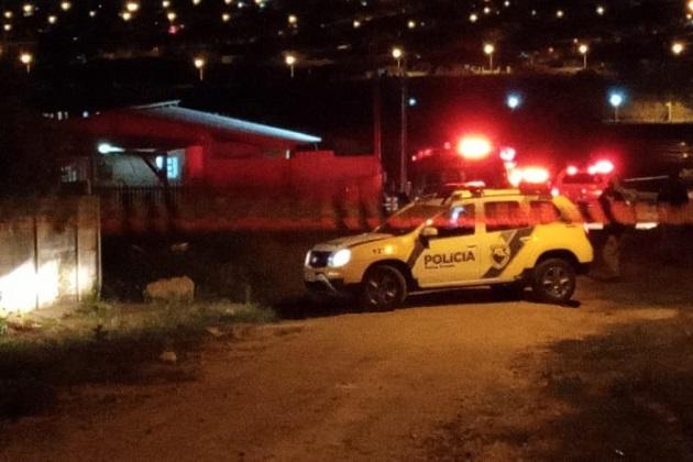 Vídeo: Rapaz morre baleado em Ponta Grossa no feriado