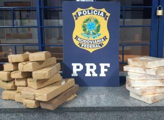 PRF encontra mais de 15kg de drogas escondidas em veículo em Irati