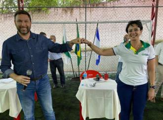 Keyla Sanson retira pré-candidatura à Prefeitura de PG e Patriota define apoio a Pauliki