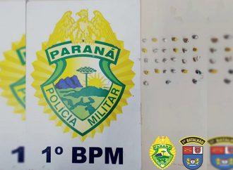 Suspeito é encontrado em Ponta Grossa com 27 pedras de crack
