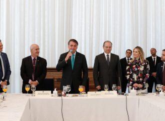 Bolsonaro agradece o empenho de vice-líderes na aprovação de matérias de interesse do Brasil