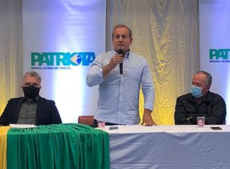 Patriota oficializa Moacyr Fadel Jr como candidato à reeleição à Prefeitura de Castro