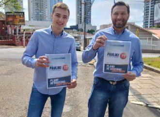 Pauliki apresenta plano de governo para Ponta Grossa