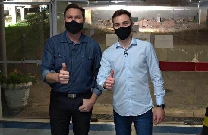 Solidariedade confirma Marcio Pauliki como candidato a prefeito e Ricardo Zampieri como vice