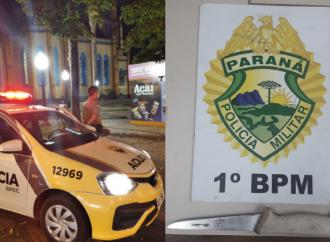 Polícia Militar prende duas pessoas durante Operação Ostensividade neste sábado (19)