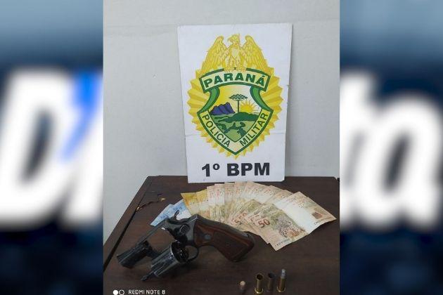 Após troca de tiros com a PM, homem é preso em PG