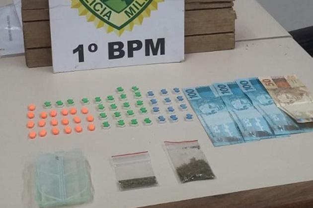 Polícia Militar prende cinco pessoas por tráfico de drogas em PG