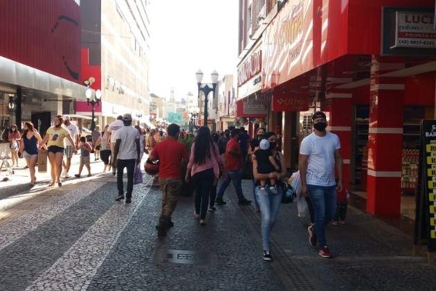 Ponta Grossa registra 72 novos casos de COVID-19 neste sábado (17)