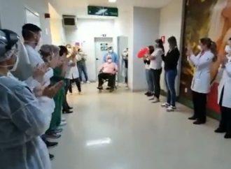Vídeo: Dr. Damião vence a COVID-19 e recebe alta do hospital nesta quarta (21)