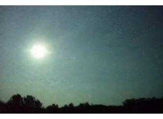 Vídeo: Meteoro com luminosidade maior do que a lua é registrado nesta madrugada no Rio Grande do Sul