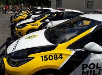 Polícia Rodoviária do Paraná recebe cinco novas viaturas do DER
