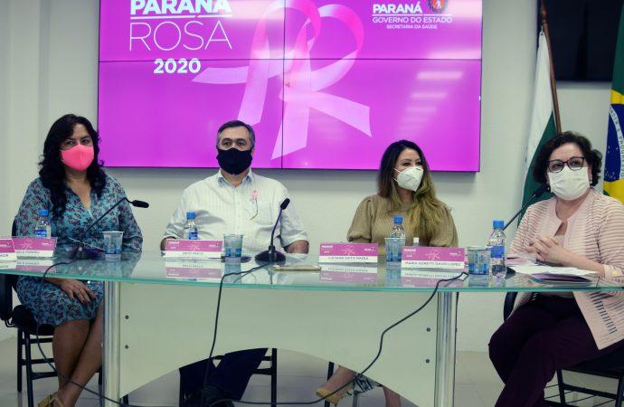 Paraná Rosa alerta sobre a importância do cuidado com a saúde da mulher